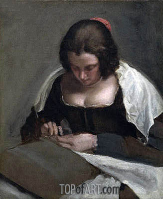 Velazquez | The Needlewoman, c.1640/50