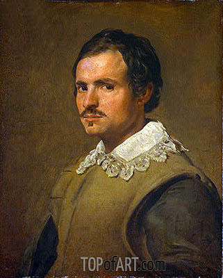 Velazquez | Portrait of a Young Man, c.1650