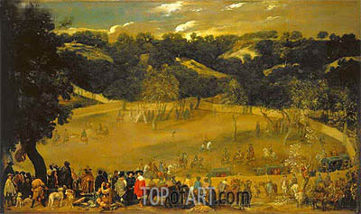 Velazquez | La Tela Real, c.1632/37