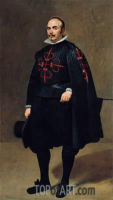Portrait of Don Pedro de Barberana, c.1631/33 | Velazquez | Painting Reproduction