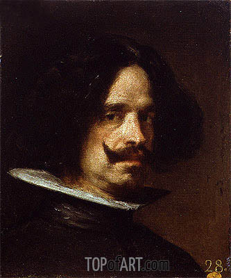 Self Portrait, c.1650 | Velazquez | Painting Reproduction