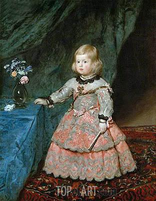 Velazquez | Infanta Marguarite Therese, c.1653/54