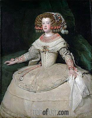 Infanta Maria Teresa, c.1652/53 | Velazquez | Painting Reproduction