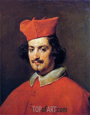 Cardinal Camillo Astalli, c.1650/51 | Velazquez | Painting Reproduction