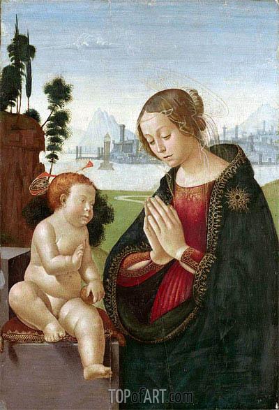 Ghirlandaio | Virgin and Child, c.1480/90