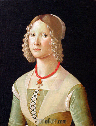 Portrait of a Woman,  | Ghirlandaio | Painting Reproduction