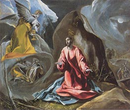 The Agony in the Garden | El Greco | Painting Reproduction