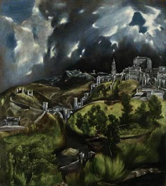 View of Toledo | El Greco | Painting Reproduction