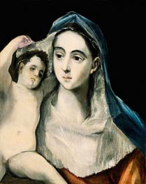 Madonna and Child | El Greco | outdated