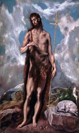 St John the Baptist | El Greco | outdated