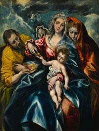 The Holy Family with Mary Magdalen | El Greco | outdated