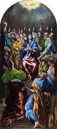 Pentecost, c.1600 by El Greco | Painting Reproduction