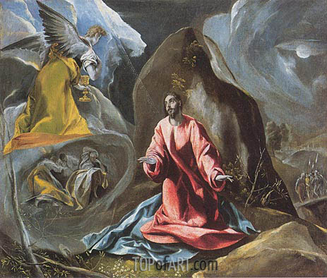 El Greco | The Agony in the Garden, c. 1590/95