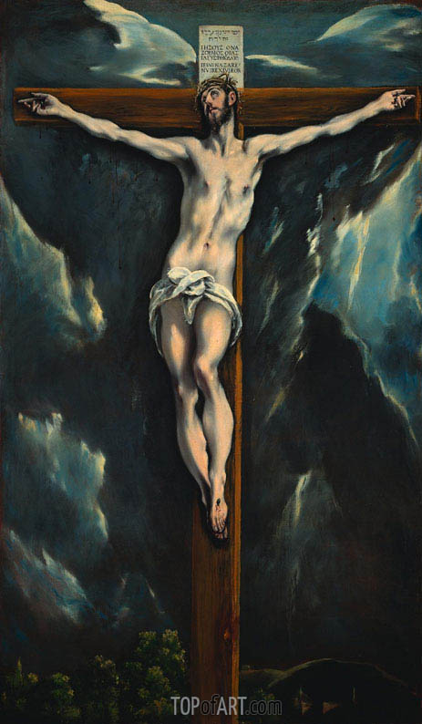 Christ on the Cross, c.1600/10 | El Greco | Painting Reproduction