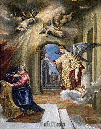 El Greco | The Annunciation, c.1570