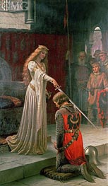 The Accolade, 1901 by Blair Leighton | Painting Reproduction