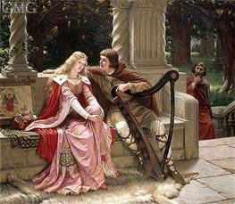 Tristan and Isolde, 1902 by Blair Leighton | Painting Reproduction