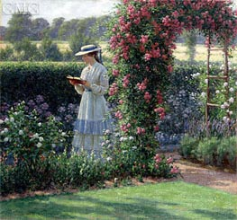 Sweet Solitude, 1919 by Blair Leighton | Painting Reproduction