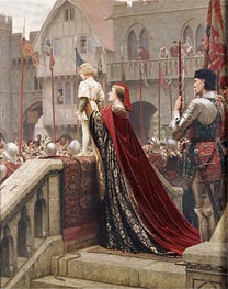 A Little Prince Likely in Time to Bless a Royal Throne, 1904 by Blair Leighton | Painting Reproduction