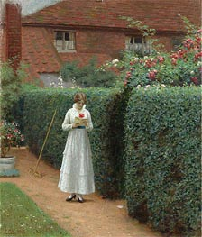 Le Billet Doux, 1915 by Blair Leighton | Painting Reproduction