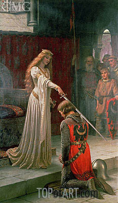 The Accolade, 1901 | Blair Leighton| Painting Reproduction