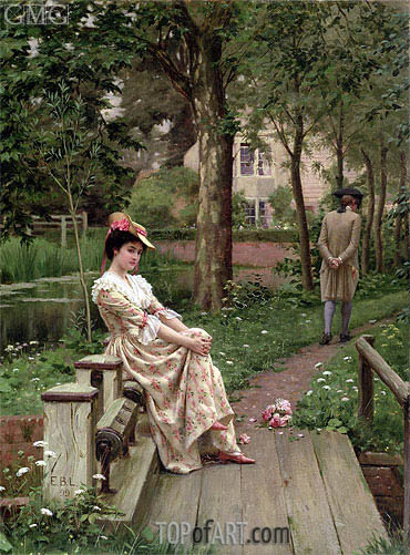 Off, 1899 | Blair Leighton| Painting Reproduction