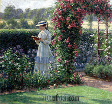 Sweet Solitude, 1919 | Blair Leighton | Painting Reproduction