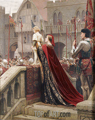 A Little Prince Likely in Time to Bless a Royal Throne, 1904 | Blair Leighton | Painting Reproduction