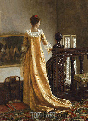 The Golden Train, 1891 | Blair Leighton| Painting Reproduction