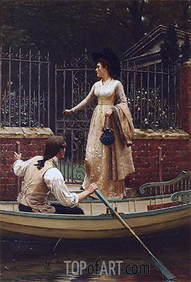 The Elopement, 1893 | Blair Leighton | Painting Reproduction