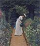 My Lady's Garden | Edmund Blair Leighton