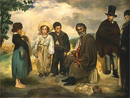 The Old Musician, 1862 by Manet | Painting Reproduction