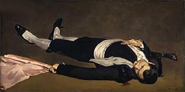 The Dead Toreador, c.1864 by Manet | Painting Reproduction