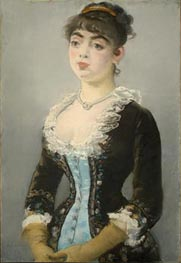 Madame Michel-Levy, 1882 by Manet | Painting Reproduction