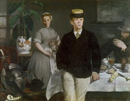 The Luncheon in the Studio, 1868 by Manet | Painting Reproduction