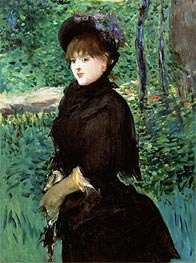 The Promenade | Manet | Painting Reproduction