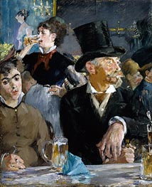 Cafe - Concert | Manet | Painting Reproduction