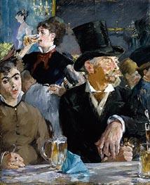 Cafe - Concert | Manet | Gemälde Reproduktion