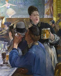 Corner in a Cafe - Concert | Manet | Gemälde Reproduktion