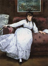 Repose: Portrait of Berthe Morisot | Manet | veraltet