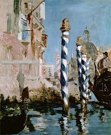 The Grand Canal, Venice | Manet | veraltet