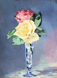 Roses in a Champagne Glass | Manet | veraltet