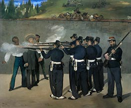 The Execution of the Emperor Maximilian | Manet | veraltet