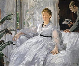 Madame Manet (Reading) | Manet | veraltet