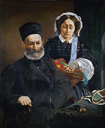 Portrait of Monsieur and Madame Auguste Manet | Manet | veraltet