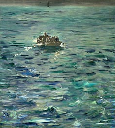 The Escape of Henri de Rochefort 20 March 1874 | Manet | Gemälde Reproduktion