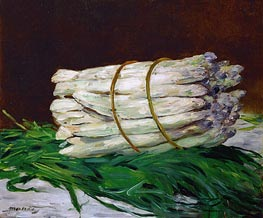 A Bunch of Asparagus | Manet | Gemälde Reproduktion
