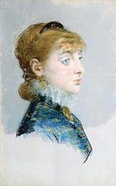 Mademoiselle Lucie Delabigne (Valtesse de la Bigne) | Manet | Gemälde Reproduktion