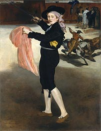 Mademoiselle V... in the Costume of an Espada | Manet | Gemälde Reproduktion