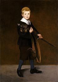 Boy with a Sword | Manet | Gemälde Reproduktion